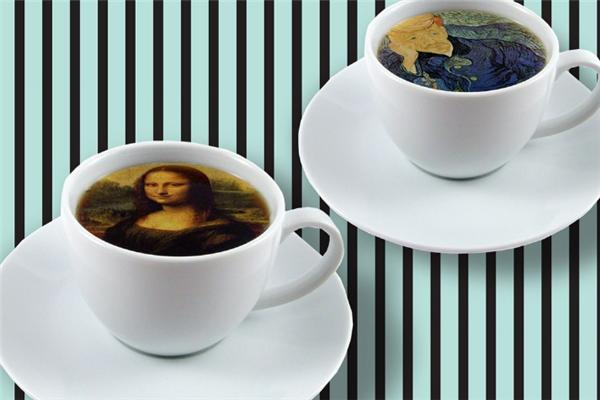 咖啡贝贝饮品香浓