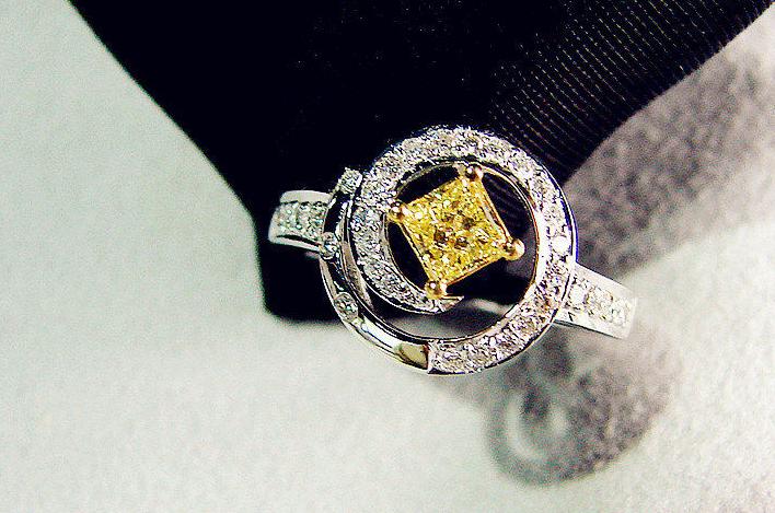 首爱钻石金子