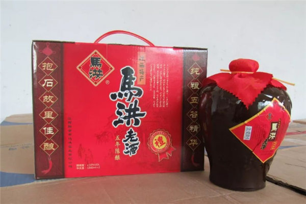马洪老酒酒水