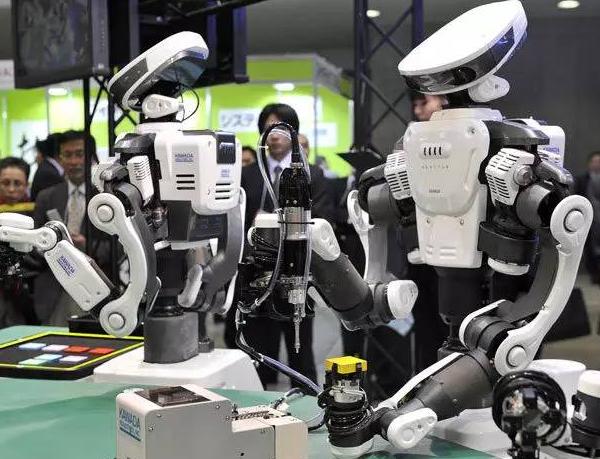 博派智能机器人展示