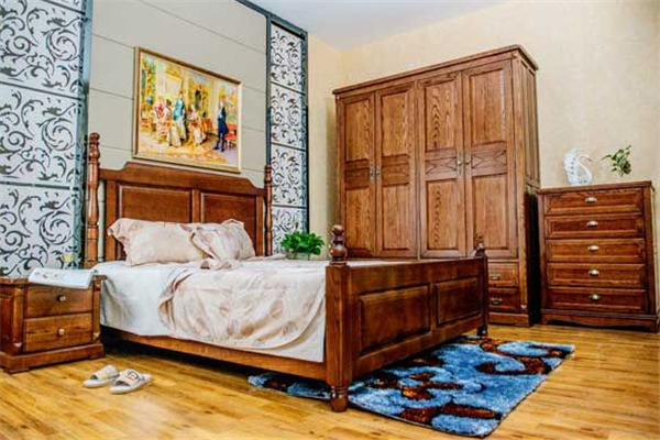 白蜡木家具卧室