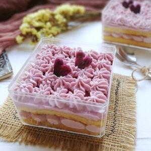水晶盒子甜品很美味