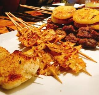 铁竹堂烧烤炸货美味