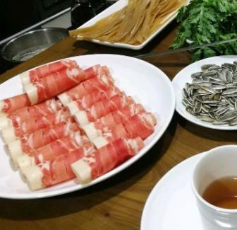 金刀銅鍋涮肉套餐