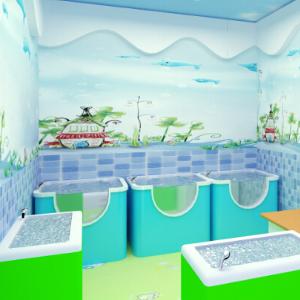 童博士婴幼儿游泳馆环境