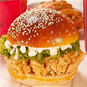 华爵士汉堡炸鸡