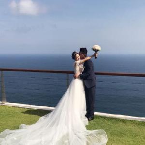 芝心海外婚礼海边