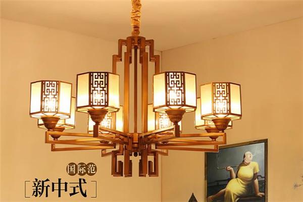 哲特燈飾復古式吊燈