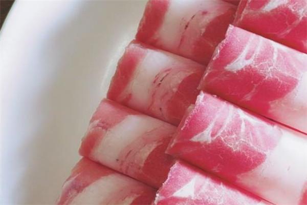 金刀銅鍋涮肉肥牛卷