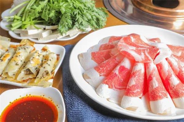 金刀銅鍋涮肉茼蒿
