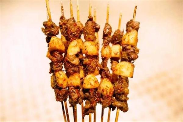 铁竹堂烧烤炸货肉串