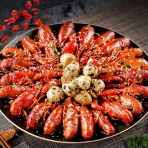 楚风酒楼小龙虾油焖大虾