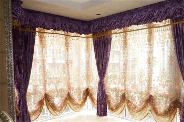 怡隆家纺窗帘样式