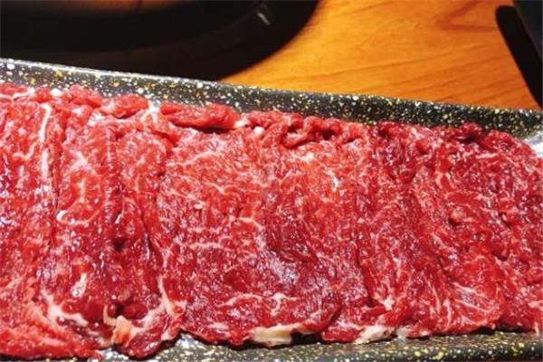 尚牛记潮汕鲜牛肉火锅新鲜