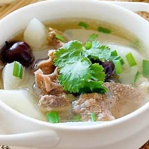 附子羊肉汤很鲜美