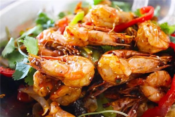 格尔木干锅虾很好吃
