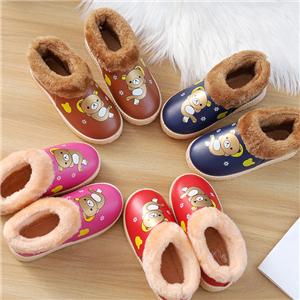 潮樂美保暖空調鞋實物