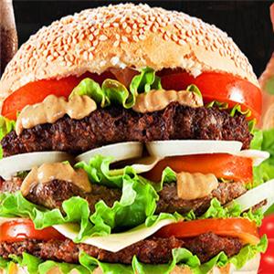 嗨丘汉堡王牛肉