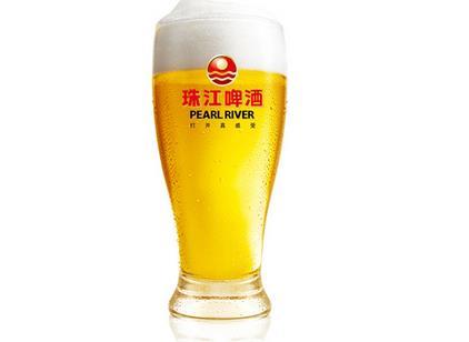 珠江純生啤酒美味