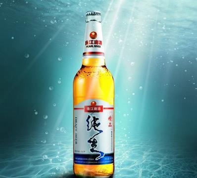 珠江純生啤酒純正