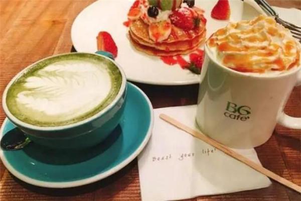 BG野兽花园咖啡t套餐
