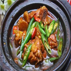 福萊記黃燜雞米飯真香