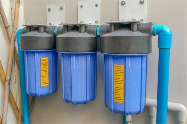乐饮橱柜净水器蓝色