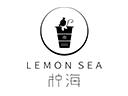 柠海奶茶品牌logo