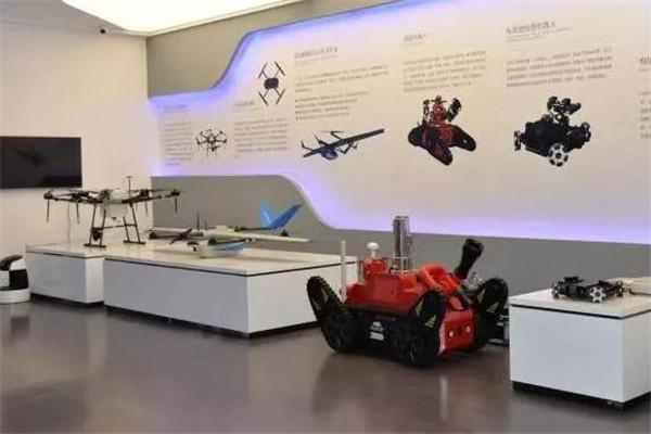 莘迪机器人科创中心模型