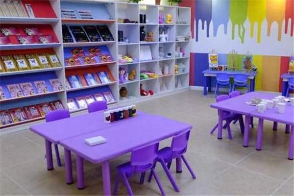 中豪外国语培训学校教室
