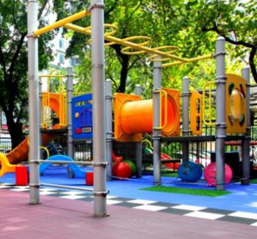 帝景苑幼儿园玩耍区