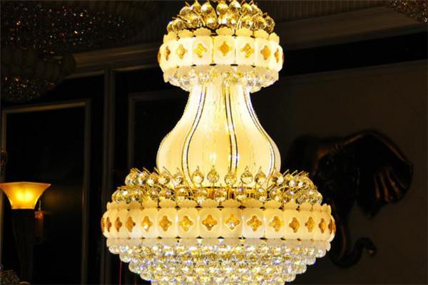 木林森灯饰水晶灯