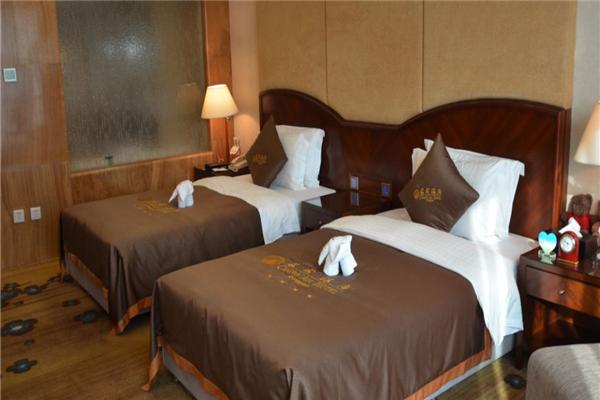 东莞长安酒店豪华双床房
