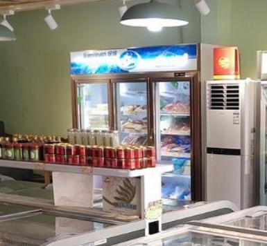 昔食記火鍋食材超市冰箱