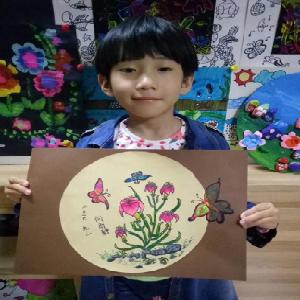 稚鸟儿童美术画作