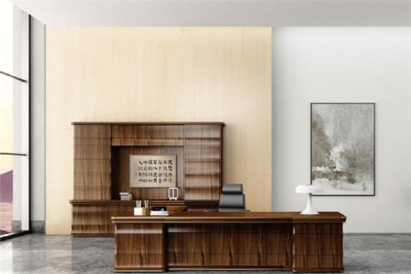 长江办公家具-棕褐色