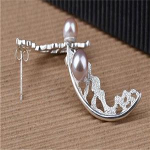 月半弯银饰品质好