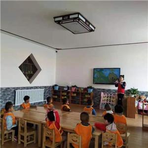 皇御苑幼儿园上课