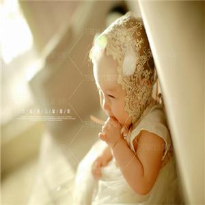 万福娃儿童摄影-米色
