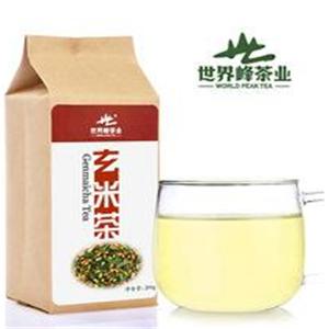 世界峰茶业玄米茶