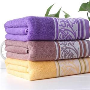 中国结竹纤维毛巾厚实