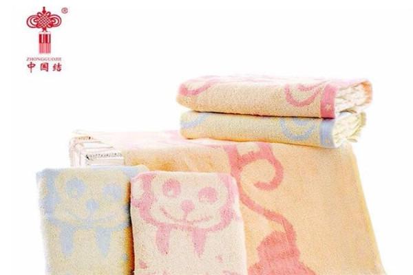结竹纤维毛巾粉色