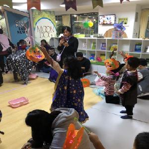 哈沐德国际早教万圣节活动