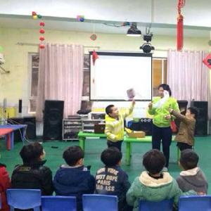 金蓓蕾幼儿园课程丰富