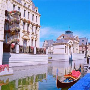 威尼斯水城一角