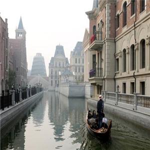 威尼斯水城环境