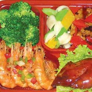 金饭碗中式快餐健康