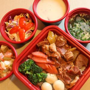 金饭碗中式快餐营养