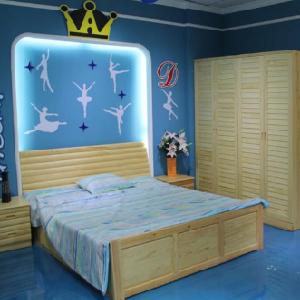 贵人缘儿童家具原木床