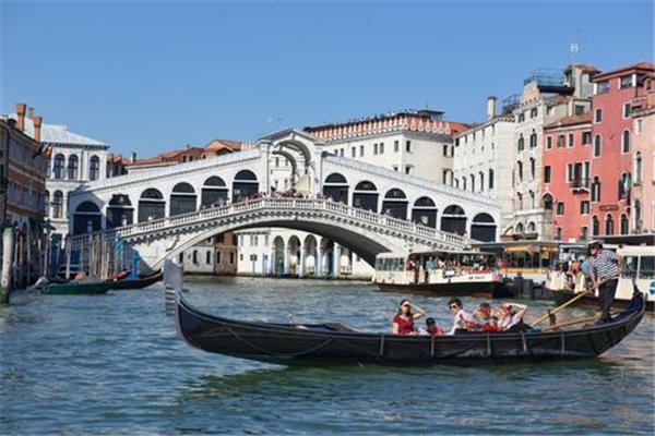 威尼斯水城背景